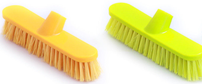 Plastic Hard Floor Brush 18 Inch - Without Handle - Hospitality