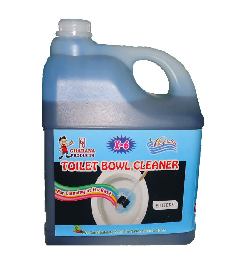 X - 6 - Toilet cleaner   5 liter packing - Hospitality