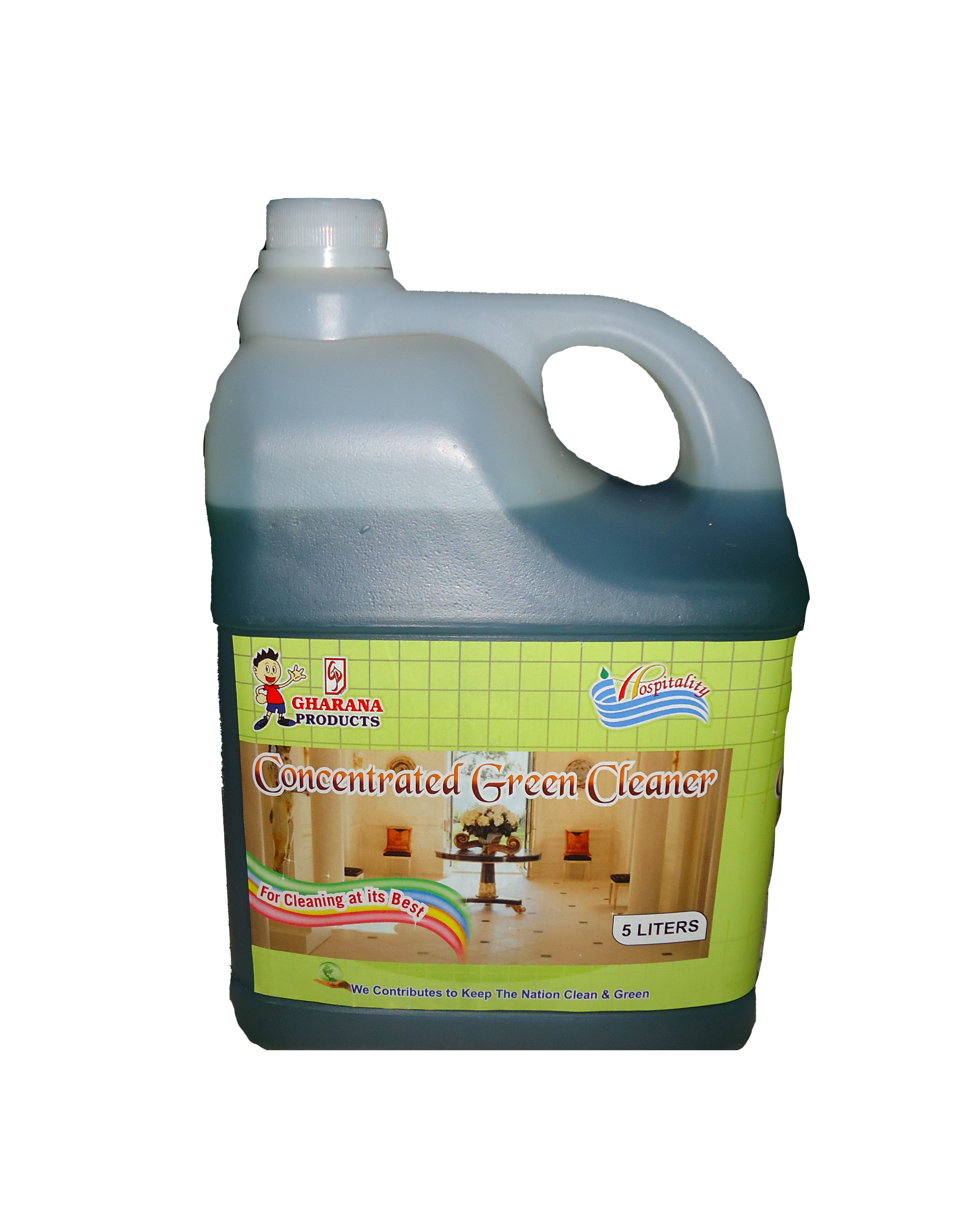 X-14-Green cleaner  5 liter packing-Hospitality